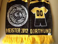 Meister 2012 Dortmund (Schal)