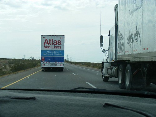 Trucks Ahead Of Me
