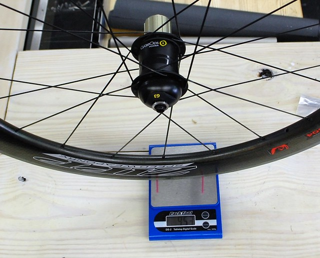 Zipp 404 Firecrest G3 Powertap Actual Weight 953g
