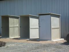 Pre-fab toilets