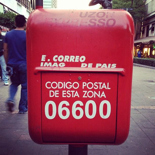A #cotel, no #panamá, já recebia esta mensagem. #méxicodf