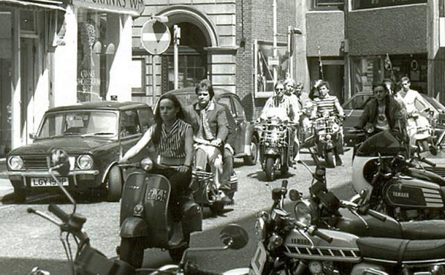 Mods, London 1979