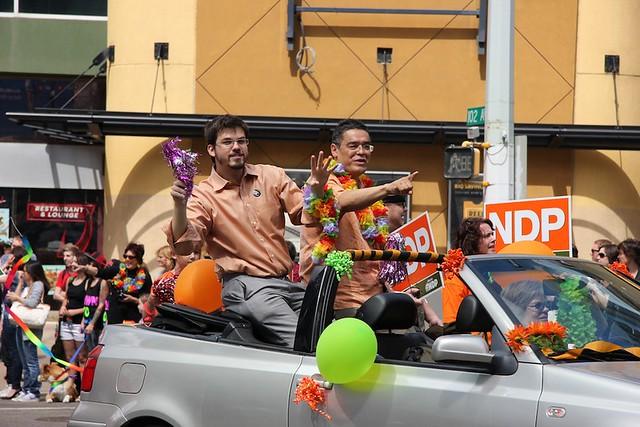 Edmonton Pride Parade 2012 NDP