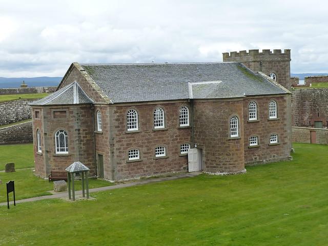 Garrison Chapel, Fort George