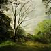 Lonely tree by Kerstin Frank art