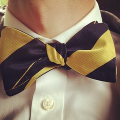 pattern, clothing, yellow, necktie,