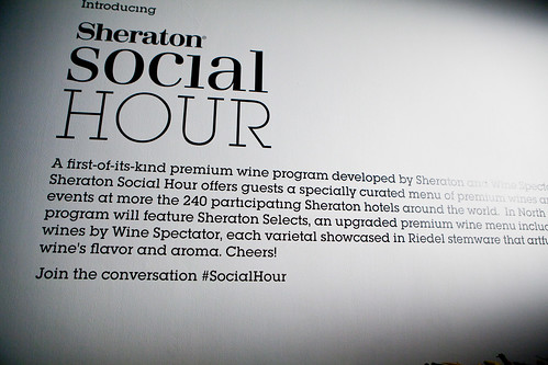Introducing Sheraton Social Hour...
