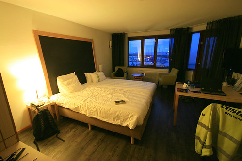 Room 231, Holiday Inn, Ijmuiden, Netherlands