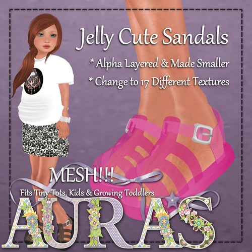 Jelly Cute Sandals by AuraMilev