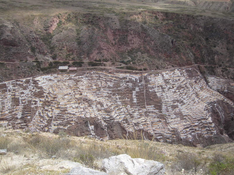 Salinas Salt Pans Cusco Peru
