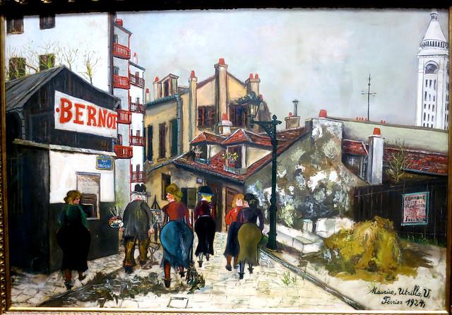 Maurice Utrillo, House of Bernot