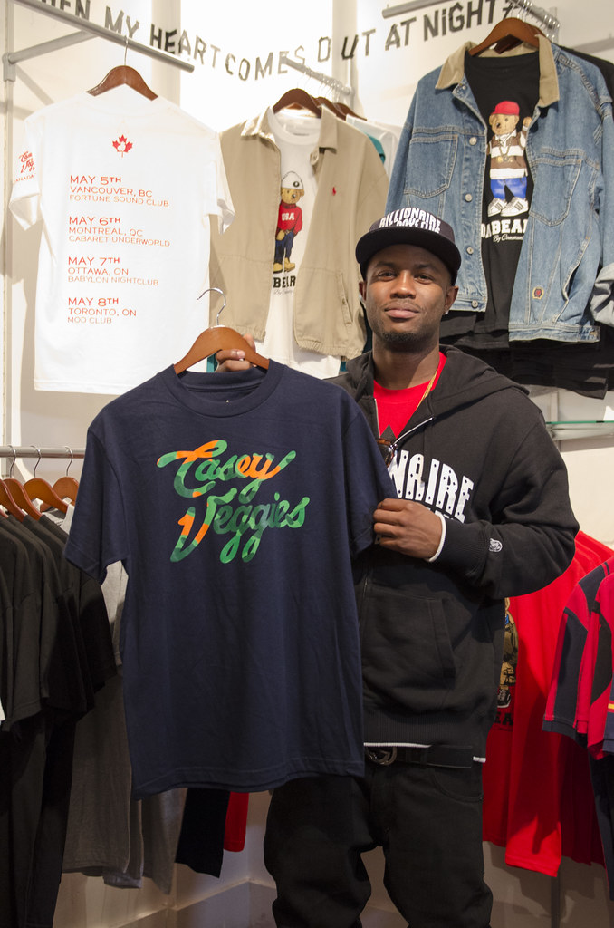 Casey Veggies Meet and Greet in Toronto
