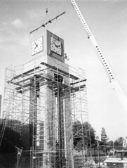 Mesa Community College Clock Tower Under Construction