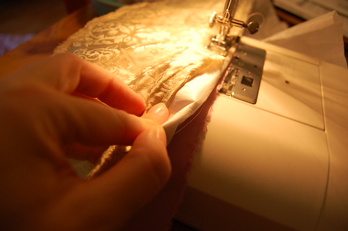 Imitation Hemstitching