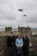 Welsh pride at Caernarfon castle
