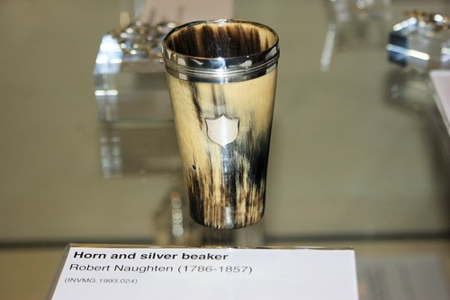 Horn cup 18-19th C