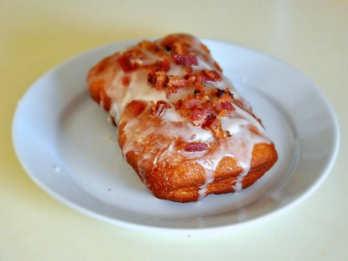 Maple Bacon Long John
