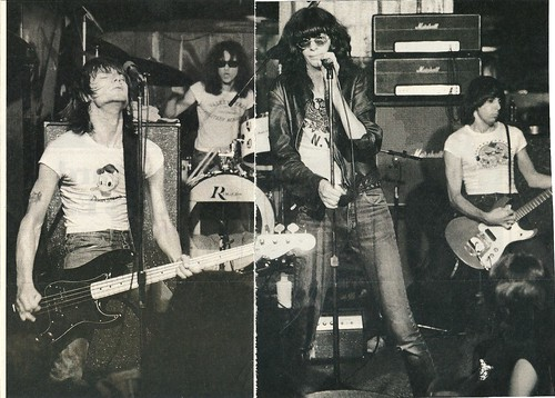 Ramones at CBGB (Undated)