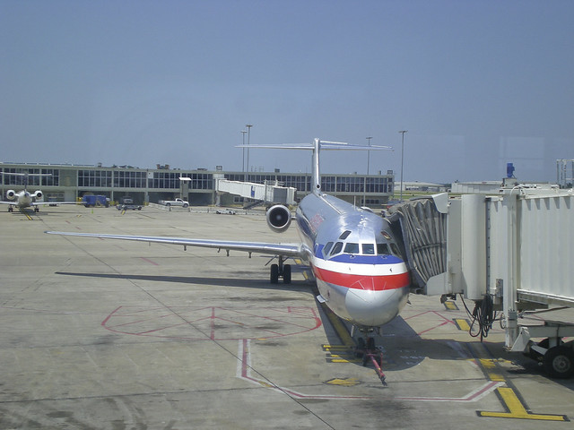 American Airlines S80 Jet http://www.flickr.com/photos/swfphotos/7315963602/