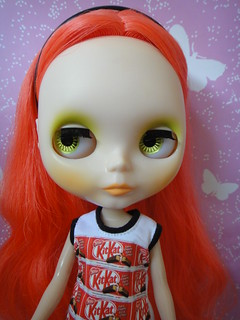 Ashlette's Fire Red Hair