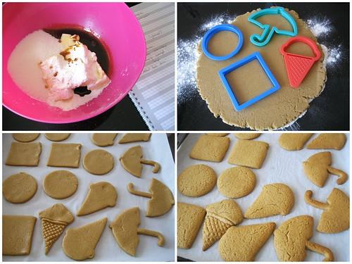 zencefilli ,pekmezli kurabiye yapılışı
