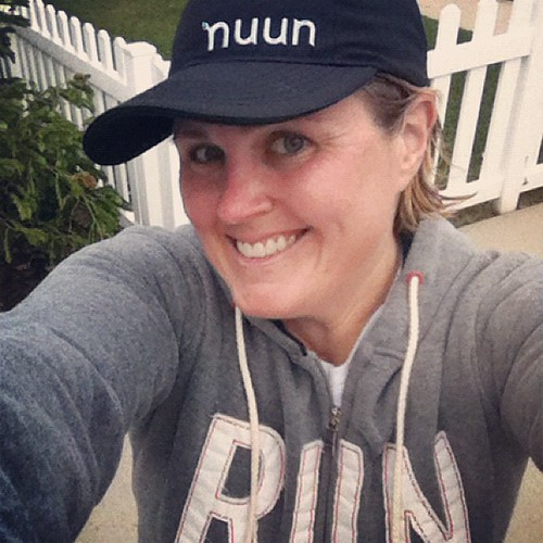 "The @nuunhydration hat and ""Run"" hoodie totally make me look like an athlete, right? Or just the ""I don't want to do my hair and only own running clothes look""??? #runnerd"