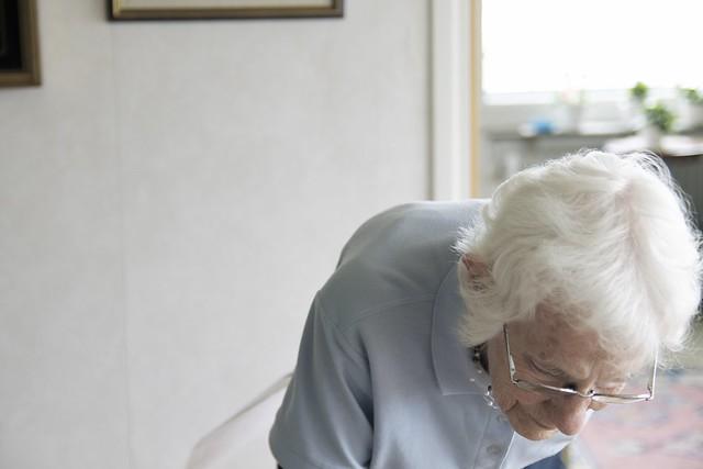 Min Mormor visar minnen för 40-talisten.