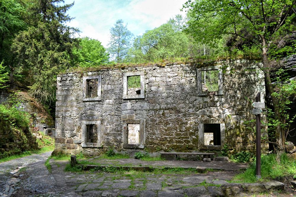 An der Grundmühle (Ferdinandsklamm)