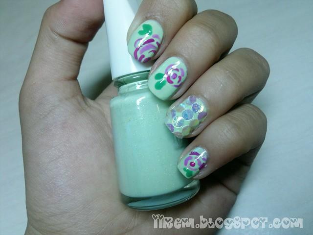 Çiçekli Tırnaklar (1)