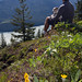 Boys and balsamroot