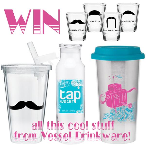 vessel drinkware giveaway