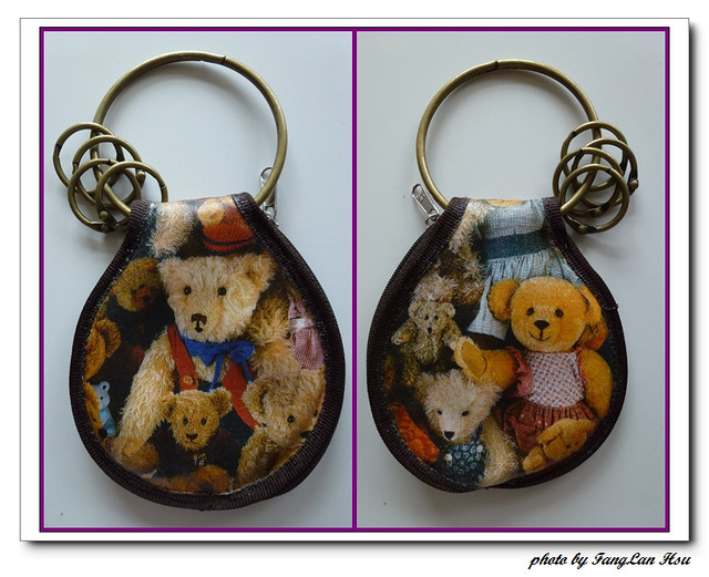 nEO_IMG_小熊鑰匙包