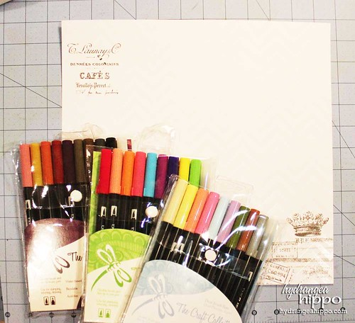 Its Anything But Healthy Layout Jennifer Priest for Tombow - Supplies