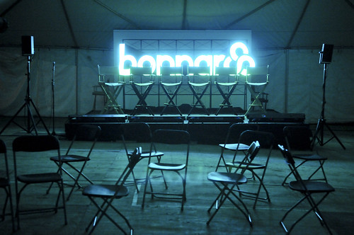 Bonnaroo Press Tent