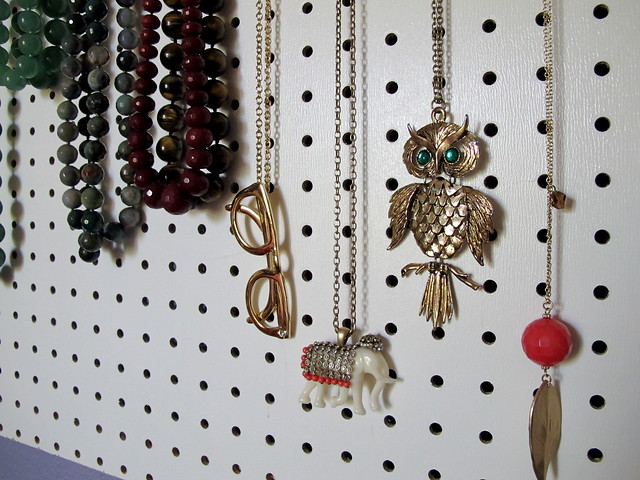 Fun necklaces on display