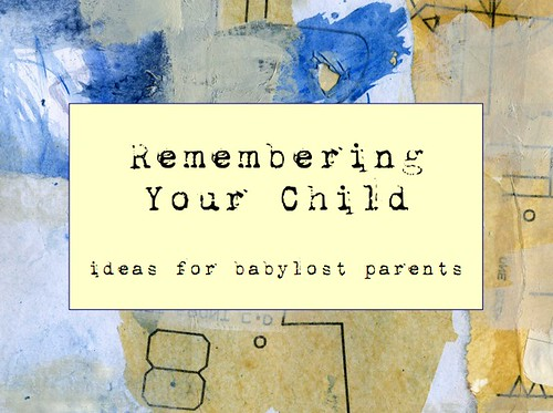 Remembering Your Child cover