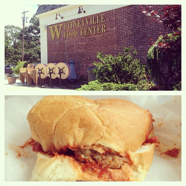 Meatball subs from our favorite Whitneyville market.