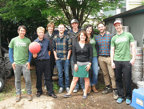 Friendly canvassers from Portland's Bureau of Environmental Services
