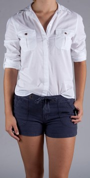 Sanctuary The Duke Button Down $86.00  & Sanctuary Beach Shorts $82.00