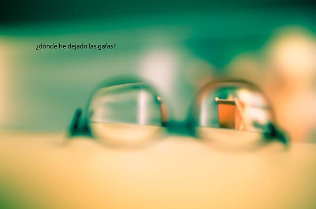 259/366: ¿dónde he dejado las gafas?