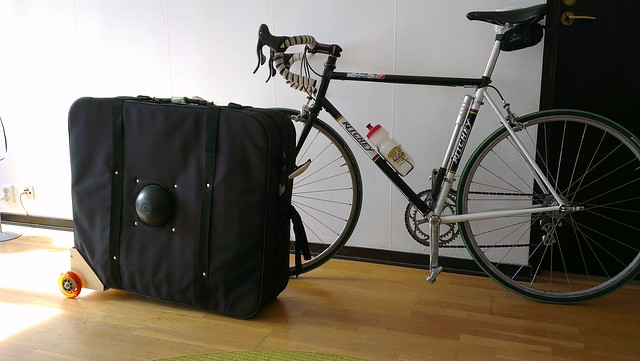 homemade trolley for Breakaway bag