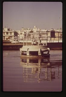 Filtration Unit At Blue Plains Sewage Treatment Plant, November 1972