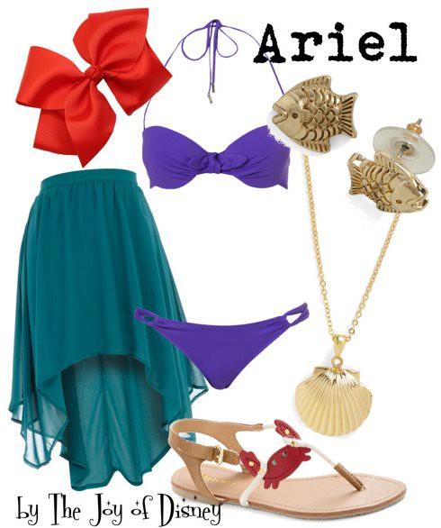 Inspired by: Ariel (Little Mermaid)