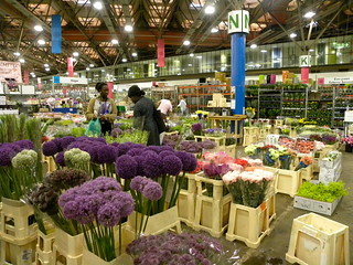 New Covent Garden Market - flower market