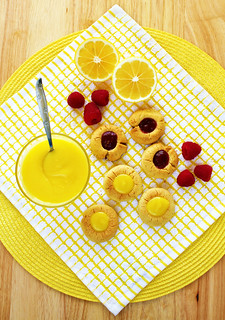 Homemade Lemon Curd & Thumbprint Cookies IV