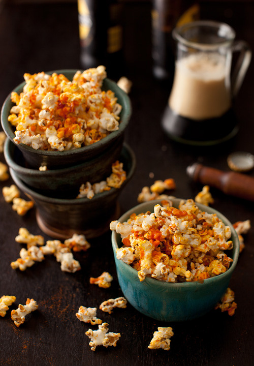 Popcorn with Hot Sauce 1