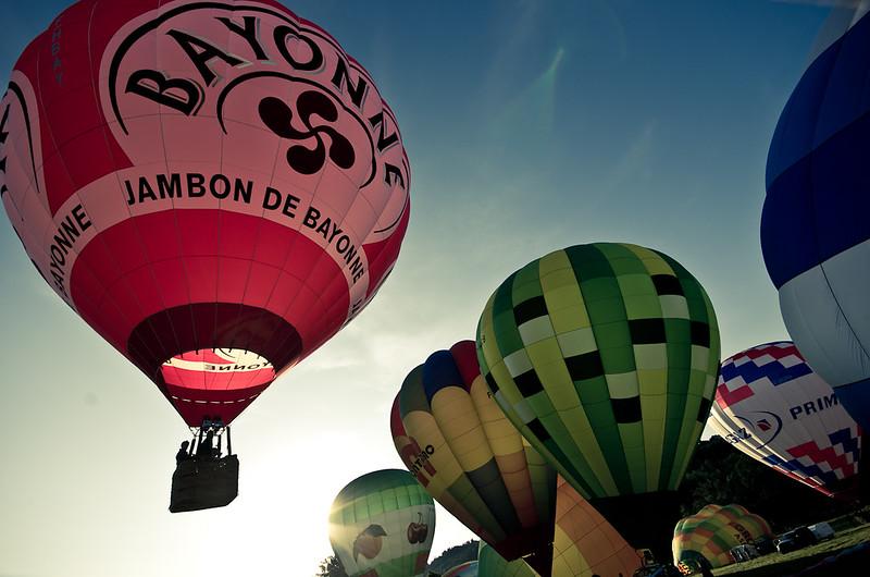 Ballons et bastides 2012