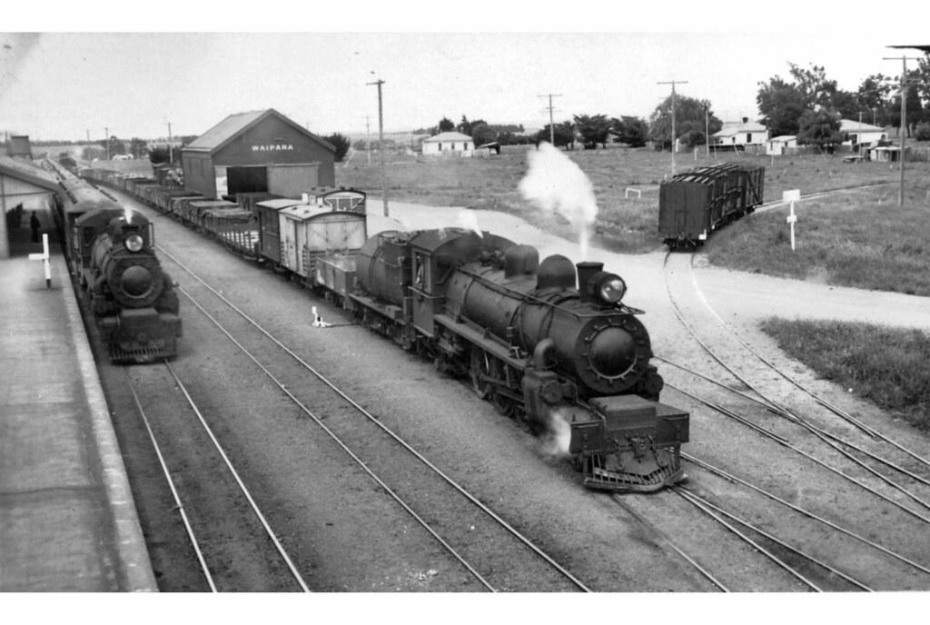 NZR Waipara 1930's