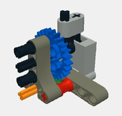 autovalve using the new pf servo motor lego technic mindstorms model team eurobricks forums. Black Bedroom Furniture Sets. Home Design Ideas