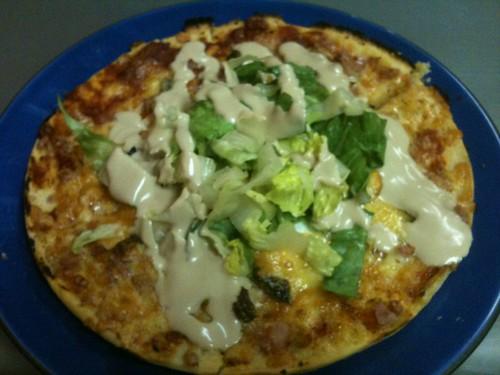 CaesarSaladPizza